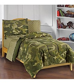 Dream Factory® Geo Camo Comforter Set