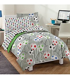 Dream Factory® Soccer Comforter Set