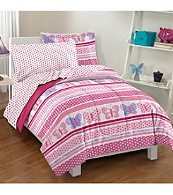 Dream Factory® Butterfly Dots Comforter Set
