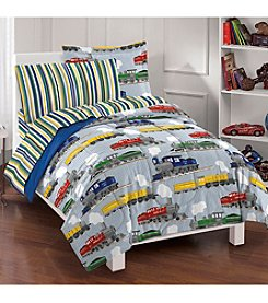 Dream Factory® Trains Comforter Set
