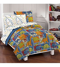 Dream Factory® Dinosaur Blocks Comforter Set