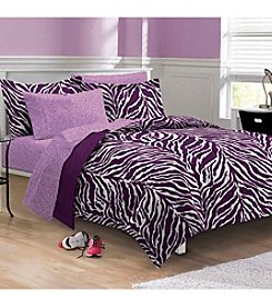 My Room® Zebra Mini Bed-in-a-Bag Comforter Set
