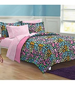 My Room® Neon Leopard Comforter Set