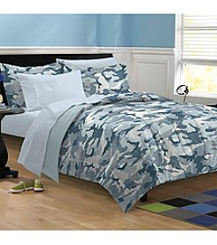 My Room® Geo Camo Steel Comforter Set
