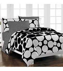 Loft Style® Spot the Dot Comforter Set