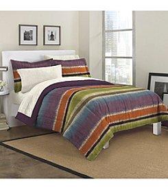 Loft Style® Texture Stripe Comforter Set
