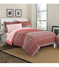 Loft Style® Houndstooth Comforter Set