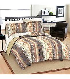 Free Spirit® Rustic Floral Comforter Set