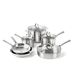Calphalon® Classic 10-pc. Stainless Steel Cookware Set + FREE Gift see offer details