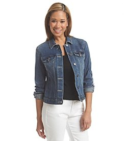 Vince Camuto® Point Collar Jean Jacket