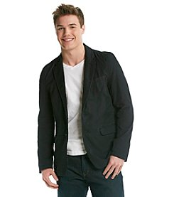 DKNY JEANS® Men's Two Button Canvas Blazer
