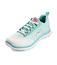 """Skechers® Sport """"New Arrival"""" Active Shoes - White/Mint"""