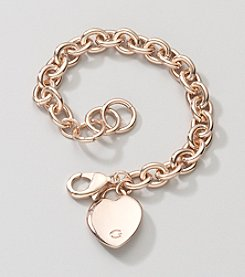 GUESS Rose Goldtone Link Bracelet