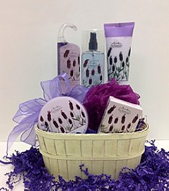 Fifth Avenue Gourmet Lavender Spa Gift Basket