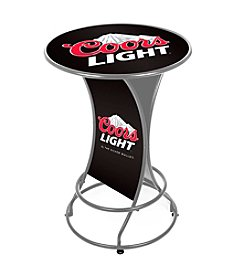 Trademark Home™ Coors Light Weatherproof Outdoor Patio Pub Table
