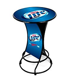 Trademark Home™ Miller Lite Weatherproof Outdoor Patio Pub Table