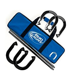 Trademark Games™ Bud Light Horseshoe Set with Carry Case