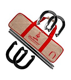 Trademark Games™ Budweiser Horseshoe Set with Carry Case