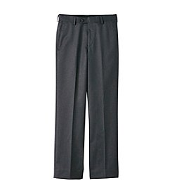 Lauren Ralph Lauren Boys' 8-20 Charcoal Dress Pants