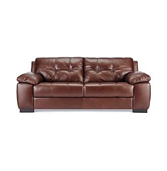 Chateau d39ax jackson leather sofa carson39s for Chateau d ax sectional leather sofa