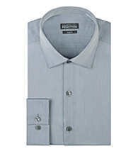 Kenneth Cole REACTION® Men's Long Sleeve Slim-Fit Chambray Dress Shirt