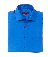 Geoffrey Beene® Men's Royal Blue Long Sleeve 'No-Iron' Dress Shirt