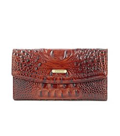 Brahmin™ Pecan Soft Checkbook Wallet