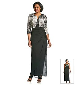 Alex Evenings® Printed Jacket Dress