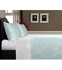 Veratex® Supreme Sateen 300-Thread Count  Egyptian Cotton Coverlet