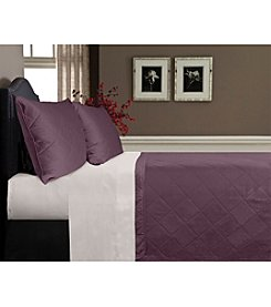 Veratex® Supreme Sateen 500-Thread Count  Egyptian Cotton Coverlet