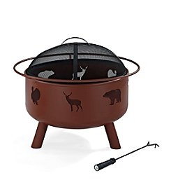 Crosley Furniture Durango Wildlife Fire Pit