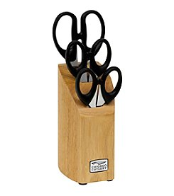 Chicago Cutlery® 4-pc Scissor Block Set