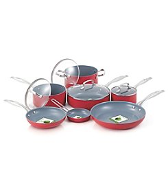 Fiesta® 11-pc. Scarlet Aluminum Cookware Set