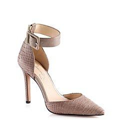 "Jessica Simpson ""Cayna"" High Heel Pumps - Taupe"