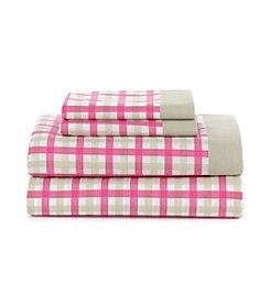 Tommy Hilfiger® Palm Springs Ibis Rose Gingham Sheet Set