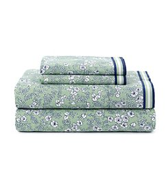 Tommy Hilfiger® Vineyard Peapod Green Sheet Set
