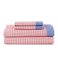 Tommy Hilfiger® Hampton Plaid Sheet Set