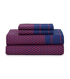 Tommy Hilfiger® Heraldry Rumba Red Sheet Set