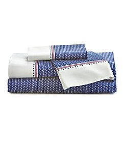 Tommy Hilfiger® All Star Blue Print Sheet Set