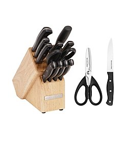 KitchenAid® 14-pc. Stamped Triple Riveted Cutlery Set