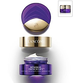 Lancome® Renergie French Lift Night Duo - Retightening Cream + Massage Disk