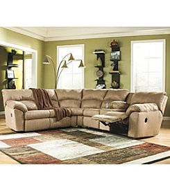 Berkline® Kalypso Two-piece Reclining Sectional