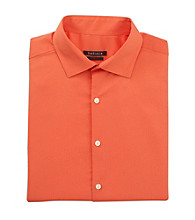 Van Heusen® Men's Coral Long Sleeve Textured Slim-Fit Dress Shirt