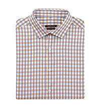 Van Heusen® Men's Cameo Long Sleeve Check Spread Slim-Fit Dress Shirt