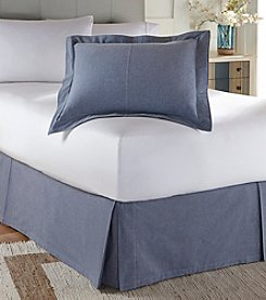 Tommy Hilfiger® Modern Sands Chambray Sham or Bed Skirt
