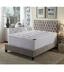 BEHRENS England® High-Loft Fiberbed Mattress Pad