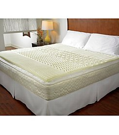 Pure Rest™ 5-Zone Memory Foam Mattress Topper