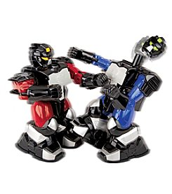 Black Series Men's Blue/Red RC Boxing Robots