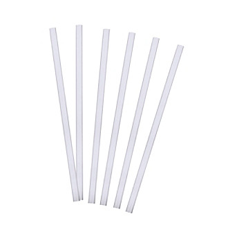 straight clear straws