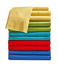 Fiesta® Solid 300-Thread Count Cotton Sheet Set